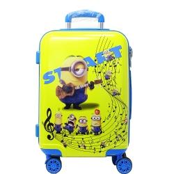 چمدان کودک طرح مینیون کد 0093