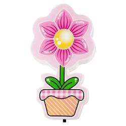 چراغ خواب کودک طرح گدان گل رز کد GOL-01