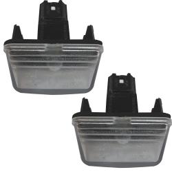 چراغ پلاک خودرو گازار پلاست مدل JT123 مناسب برای پژو پارس بسته 2 عددی