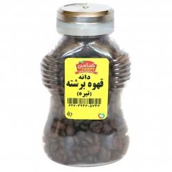 دانه قهوه برشته تیره ضامن – 160 گرم