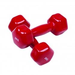 دمبل مدل 001 وزن 2 کیلوگرم بسته 2 عددی