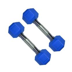 دمبلمدل شش ضلعی وزن 2 کیلوگرم بسته 2 عددی