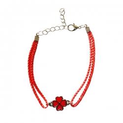 دستبند دخترانه مدل گل کد 57