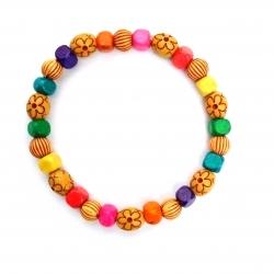 دستبند دخترانهمدل رنگین کمانی کد DS7