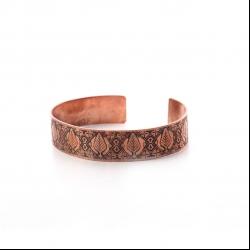 دستبند دستساز زنانه آرانیک مدل مسی حکاکی شده کد 1525100003