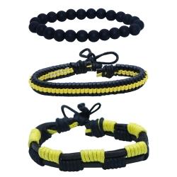 دستبند مردانه کد chf013 مجموعه 3 عددی