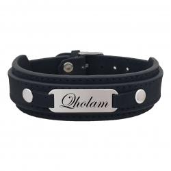 دستبند نقره مردانه ترمه ۱ مدل غلام کد 252 DCN