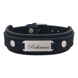 دستبند نقره مردانه ترمه ۱ مدل رحمان کد 176 DCN