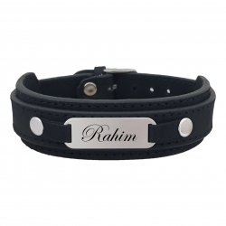دستبند نقره مردانه ترمه ۱ مدل رحیم کد 178 DCN