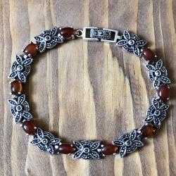 دستبند نقره زنانه کد 3070