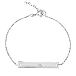 دستبند نقره زنانه ترمه ۱ مدل گیتی کد DN 2064