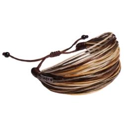 دستبند سرو مدل تنه درخت کد shb-15