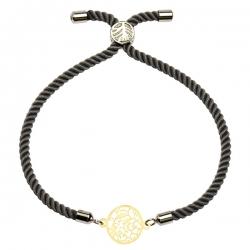 دستبند طلا 18 عیار دخترانه کرابو مدل Krd1234