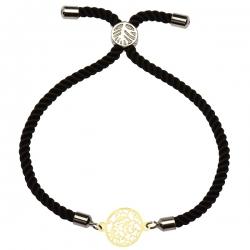 دستبند طلا 18 عیار دخترانه کرابو مدل Krd1238