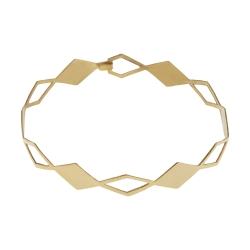 دستبند طلا 18 عیار زنانه کانیار گالری مدل B35