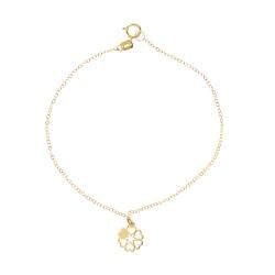 دستبند طلا 18 عیار زنانه مایا ماهک مدل MB0954