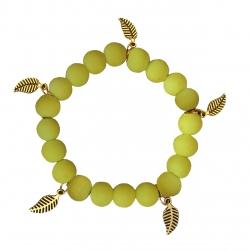 دستبند زنانه طرح برگ کد BP03