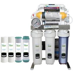 دستگاه تصفیه کننده آب آکوآ اسپرینگ مدل CHROME-FSM9  به همراه فیلتر مجموعه 4 عددی