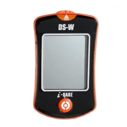 دستگاه تست قند خون دی اس دبلیو مدل DS-W i-QARE به همراه نوار تست قند خون بسته 10 عددی و سوزن بسته 10 عددی