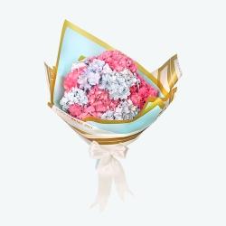 دسته گل مدلهورتانسیای شرقی