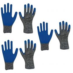 دستکش ایمنی مدل نفیس کد 221 مجموعه 3 عددی