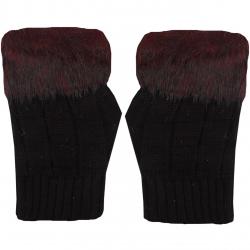دستکش بافتنی زنانه مدل 022
