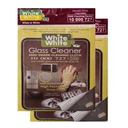 دستمال آشپزخانه وایت اند وایت مدل W_GR_01_Pack_02 بسته دو تایی