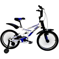 دوچرخه شهری پاور مدل دوکمک AT سایز 20