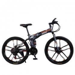 دوچرخه تاشو مدل -ZX6R سایز 26                     غیر اصل