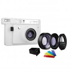 دوربین چاپ سریع لوموگرافی مدل Wide White به همراه لنز