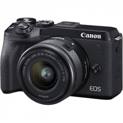 دوربین دیجیتال بدون آینه کانن مدلEOS M6 Mark II kit 15-45mm