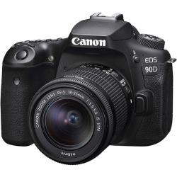 دوربین دیجیتال کانن مدل EOS 90D به همراه لنز 55-18 میلی متر IS USM