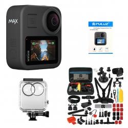 دوربین فیلم برداری مدل Hero Max به همراه لوازم جانبی پلوز