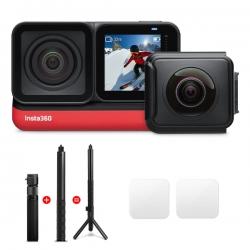 دوربین فیلم برداری ورزشی اینستا 360 مدل Insta360 TWIN EDITION به همراه لوازم جانبی
