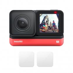 دوربین فیلم برداری ورزشی اینستا 360 مدل ONE R Twin Edition به همراه محافظ لنز