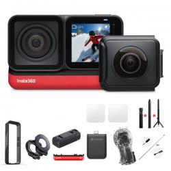 دوربین فیلم برداری ورزشی اینستا 360 مدل  به همراه لوازم جانبی insta360 one r