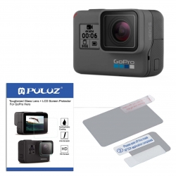 دوربین فیلم برداری ورزشی گوپرو مدل HERO6 Black Quick Stories به همراه محافظ صفحه و لنز پلوز