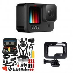 دوربین فیلم برداری ورزشی گوپرو مدل HERO 9 به همراه لوازم جانبی