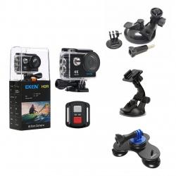 دوربین ورزشی اکن مدل H9R به همراه گیره های نگهدارنده