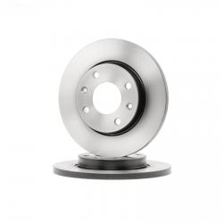 دیسک ترمز چرخ جلو هانتر کد 425621 مناسب برای پژو 206 تیپ 2 بسته دو عددی