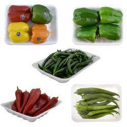 فلفل دلمه سبز 1 کیلوگرم – فلفل دلمه رنگی 1 کیلوگرم – فلفل کاپی سبز 1 کیلوگرم – فلفل کاپی قرمز 1 کیلوگرم – فلفل کبابی 1 کیلوگرم