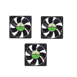 فن کیس گرین مدل S12025L بسته 3 عددی