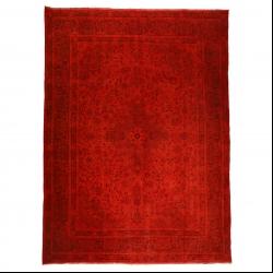 فرش دستبافت رنگ شده هشت متری مدل وینتج کد 14051441