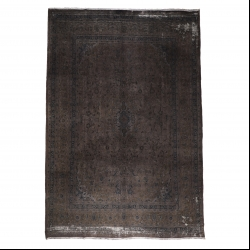 فرش دستبافت رنگ شده هشت و نیم متری مدل وینتج کد 1405146