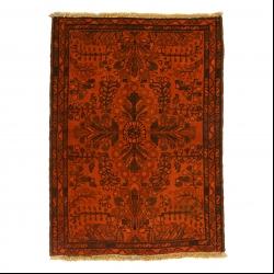 فرش دستبافت رنگ شده نیم متری مدل وینتج کد 1405126