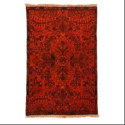 فرش دستبافت رنگ شده نیم متری مدل وینتج کد 140590
