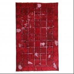 فرش دستبافت رنگ شده پنج متری مدل وینتج کد 1405138