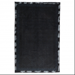فرش دستبافت رنگ شده پنج و نیم متری مدل وینتج کد 1405103