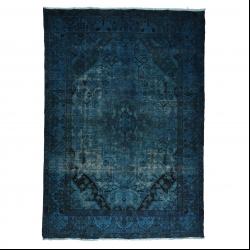 فرش دستبافت رنگ شده پنج و نیم متری مدل وینتج کد 1405105