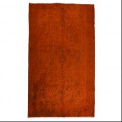 فرش دستبافت رنگ شده پنج و نیم متری مدل وینتج کد 1405108